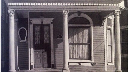 """Can you see someone in the window? Adapted from """"True Ghost Stories and Eerie Legends from America's Most Haunted Neighborhood"""" by David Dominé."""