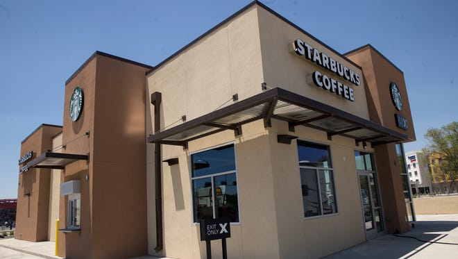 The new Starbucks location at 2900 East Main Street in Farmington is scheduled to open later this month.