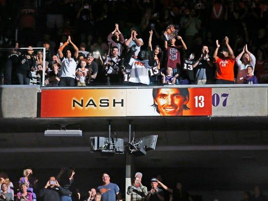 Former Phoenix Suns NBA All-Star point guard Steve