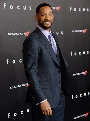 Actor Will Smith attends the Los Angeles Premiere of 'Focus' Sponsored By Dodge at TCL Chinese Theatre on February 24, 2015 in Hollywood, California.