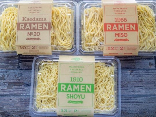 Ramen packs from Sun Noodle.