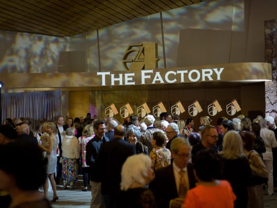 The Factory meets Studio 54 décor by Sensorium Productions.