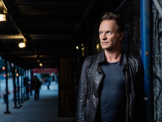 Sting is among the headliners at the second annual