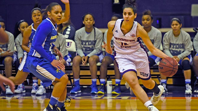 Shahd Abboud (right) has scored in double figures in her past four games, the longest stretch of her career.