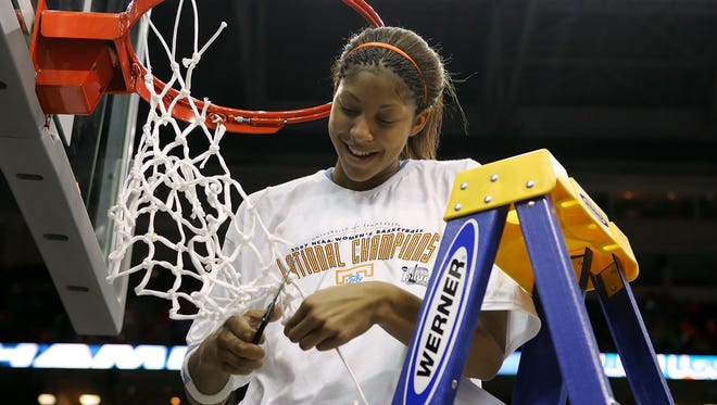 Candace Parker helped Tennessee to two national titles.