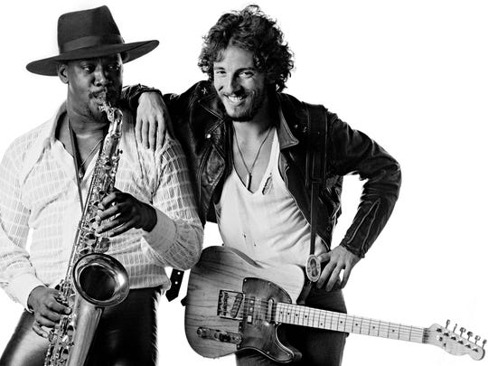 Clarence Clemons and Bruce Springsteen are featured on the cover of the 1975 album 'Born To Run.' Paul Jost will reinterpret the album at the Exit 0 Festival in Cape May