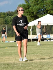 Sarah Jacobs was named head women's soccer coach at