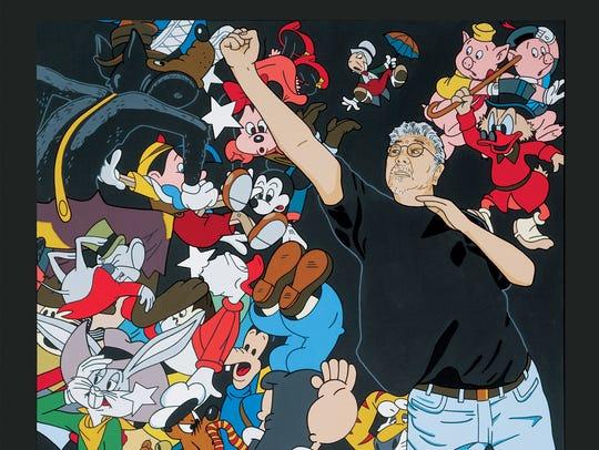 """""""American vs. Disney"""" by Roger Shimomura confronts"""