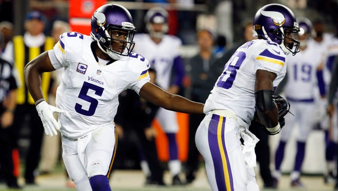 Minnesota Vikings quarterback Teddy Bridgewater is no Philip Rivers, which should come as a relief to the Lions defense.