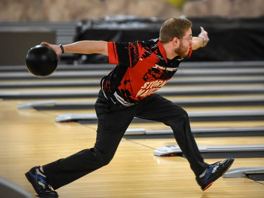 Brady Stearns bowling