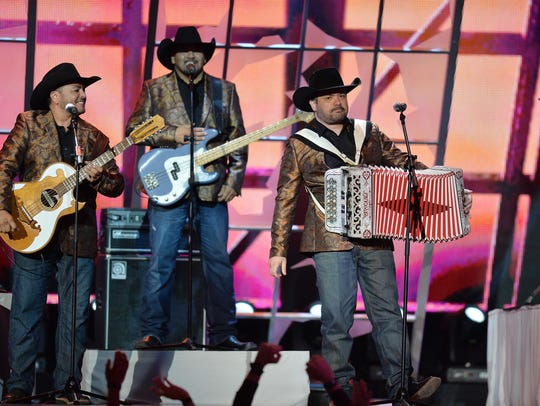 Intocable plays Mexican music at the Fillmore Detroit