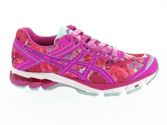 Running shoes by Asics.