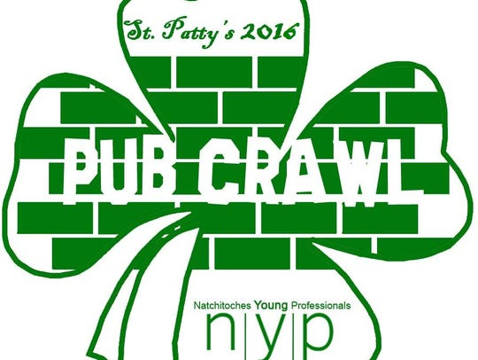 Join the NYP St> Pat's Pub Crawl 5:30 - 10:30 p.m.