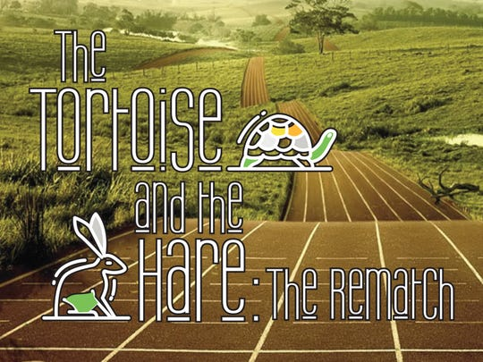The Tortoise and the Hare: The Rematch will be shown at the Waukesha Civic Theatre,264 West Main Street, Oct. 5 through Oct. 8.