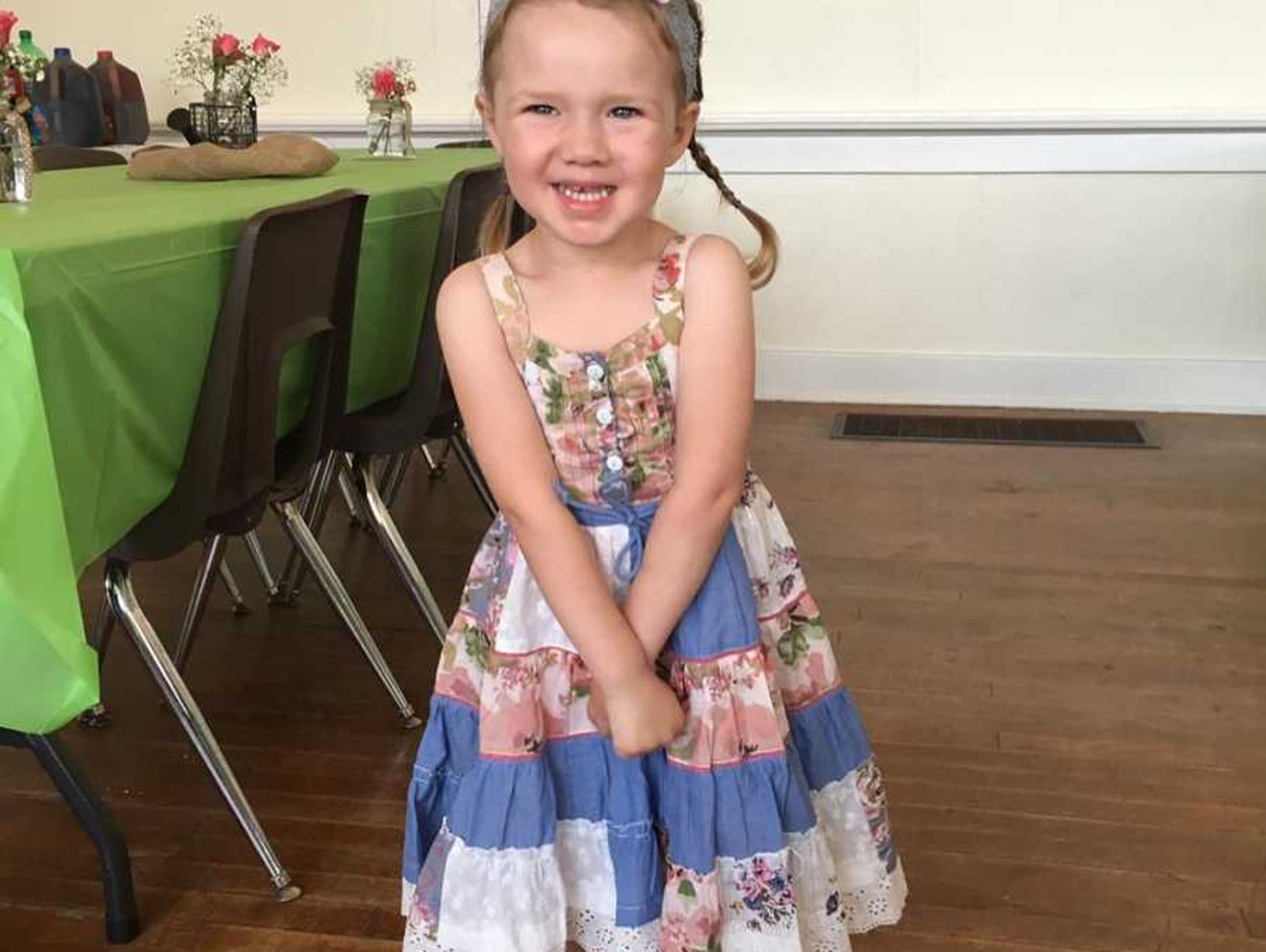 Addy is fighting DIPG. Treatments have stopped working.