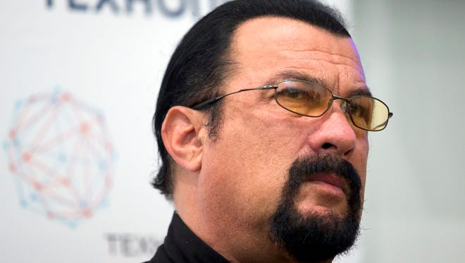 Actress Portia de Rossi claims, in a Nov. 8 tweet, that actor/producer Steven Seagal, during a private office audition, explained the  importance of chemistry off-screen as he sat her down and unzipped his leather pants. The actress says she escaped and called her agent following the incident.