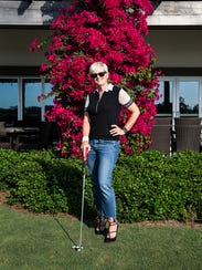 Motherputter is a new women's golf attire that is distinguishable