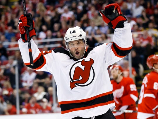The New Jersey Devils signed Jagr in 2013-14 and he