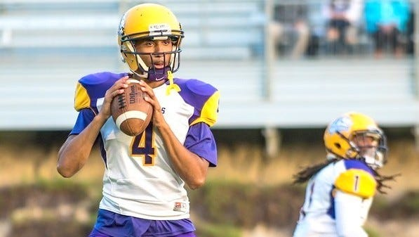 WNMU quarterback Javia Hall led the Mustangs with four passing and two rushing touchdowns Saturday at home.