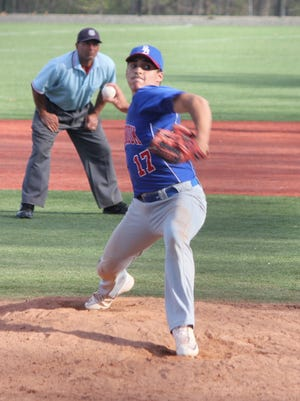 Blind Brook senior Lucca Colangelo will lead the Trojans' pitching staff in 2018.