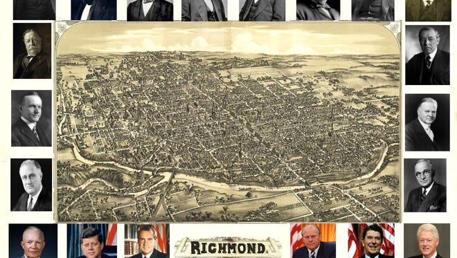 Twenty U.S. presidents have visited Richmond through the years.