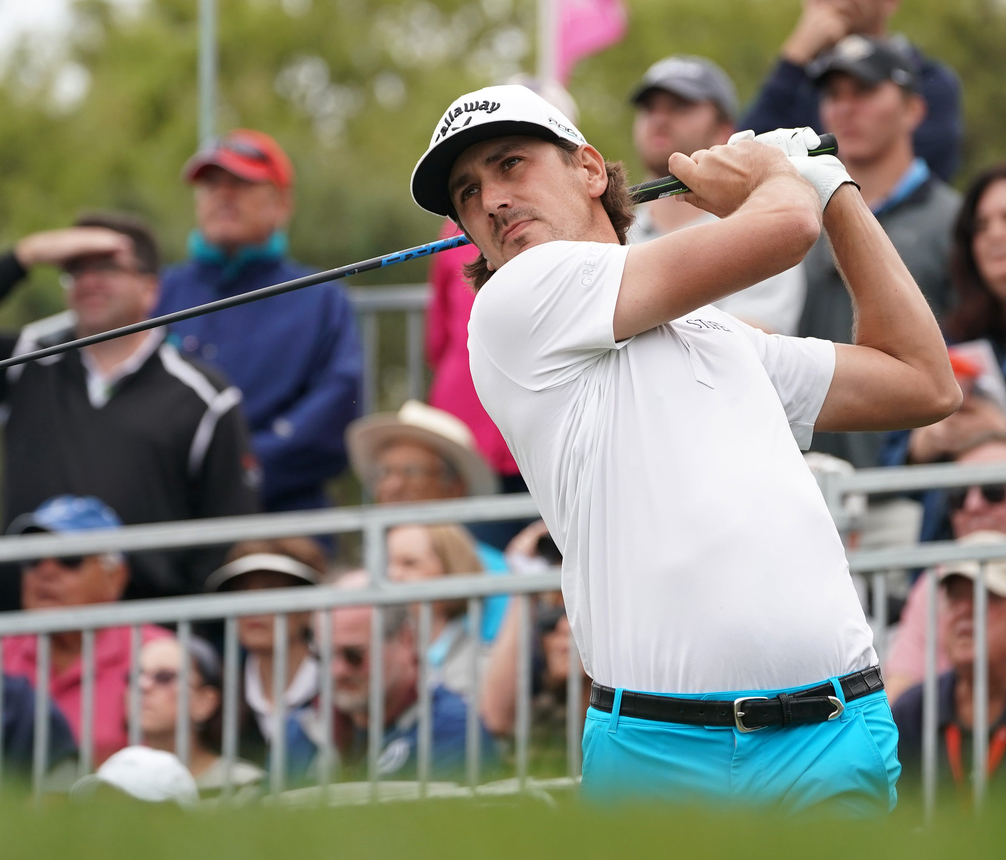 Kelly Kraft, shown last month, fell short at the RBC Heritage after his shot hit a bird in flight.