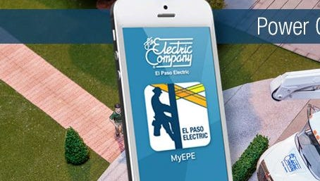El Paso Electric now has a smartphone app for customers to report power outages.