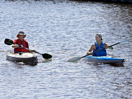 National Get Outdoors Day Saturday is designed to get you outside, walking, riding or paddling.