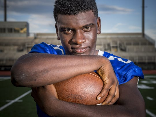 Bishop Chatard RB Gabe Coleman will lead the Trojans' attack in 2016.