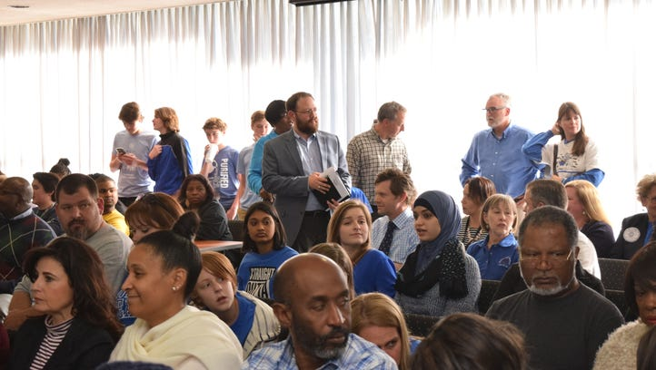 Talk of closing and merging schools concerned students and parents at the Rapides Parish School Board meeting held March 14.