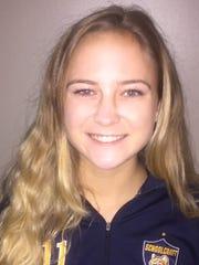 Lauren Wynns recently was named a NJCAA second-team