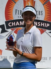 Erynne Lee won the 2017 Symetra Tour FireKeepers Casino Hotel Golf Championship at Battle Creek Country Club.