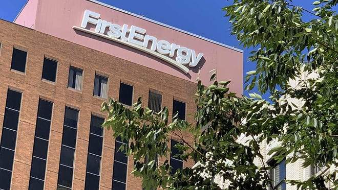 FirstEnergy Corporation at Cascade Plaza downtown Wednesday, July 29, 2020 in Akron, Ohio.