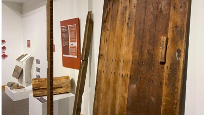 Some pieces from the Barns: Preserving Agricultural Heritage, exhibition on view through July 25, at Ella Sharp Museum in Jackson.
