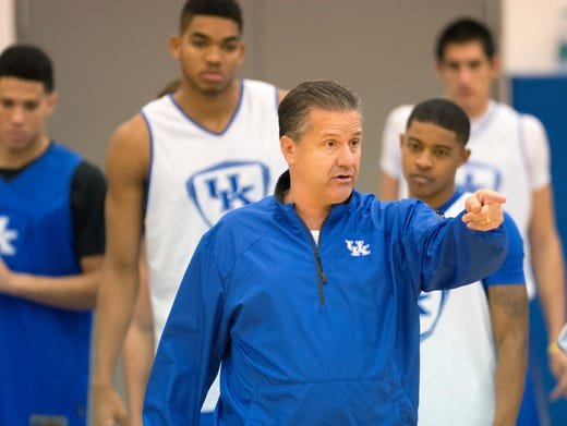 Espnu To Televise Uk Basketball Practice: The Real Big Blue Madness Is Kentucky Basketball Practice