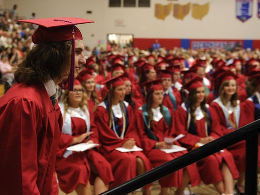 Licking Valley Graduation