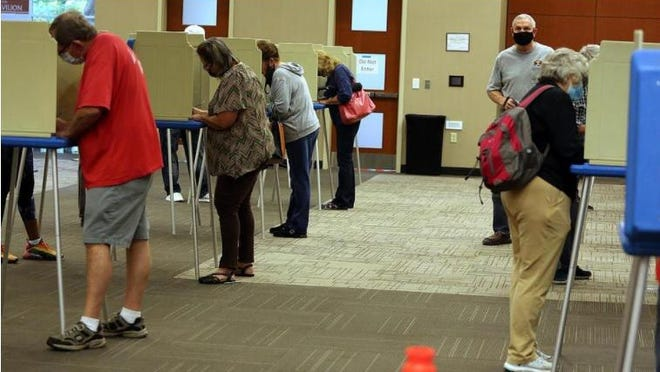 Polls open on Election Day at 6:30 a.m. Area law enforcement officers hope for a quiet Election Day.