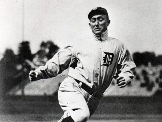 A controversial man, Ty Cobb was a great Tiger on the field.