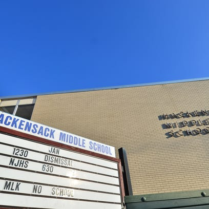 Hackensack Middle School in Hackensack.