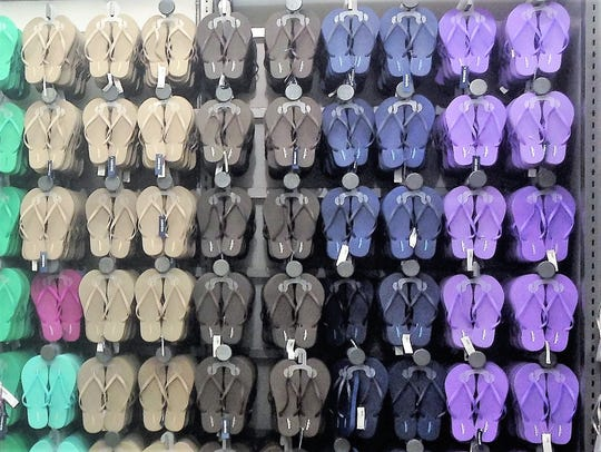 June 24 is Old Navy's annual flip flop sale.