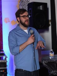 """Detroit-based filmmaker Joshua Riehl screened a sample of his documentary """"The Russian Five,"""" during the Works-in-Progress event at 2017 Freep Film Festival."""
