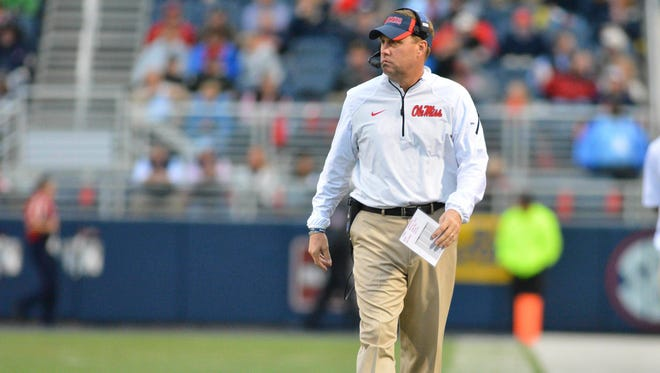 Ole Miss coach Hugh Freeze discusses his decision to go for it on fourth-and-6 on Arkansas' 49-yard line in the fourth quarter.