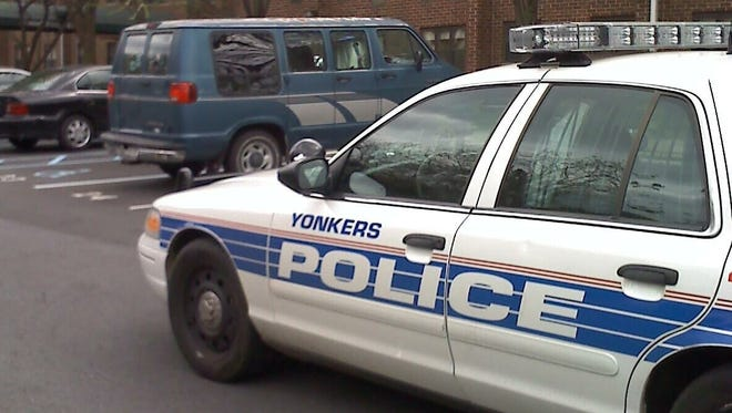 Yonkers City police car.