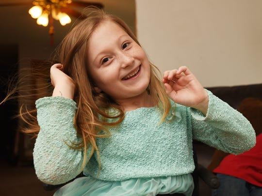 Ava McCulloch, 8, of Avondale, would like to spend more time playing independently, but because her current wheelchair gets stuck so often, she can't just go outside alone.