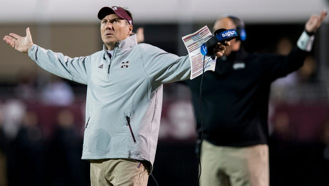 Dan Mullen is 68-45 in nine seasons at Mississippi State.