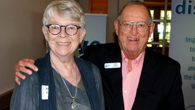 Annie and Dick Egan were recently honored as Philanthropists of the Year by the Door County Community Foundation.