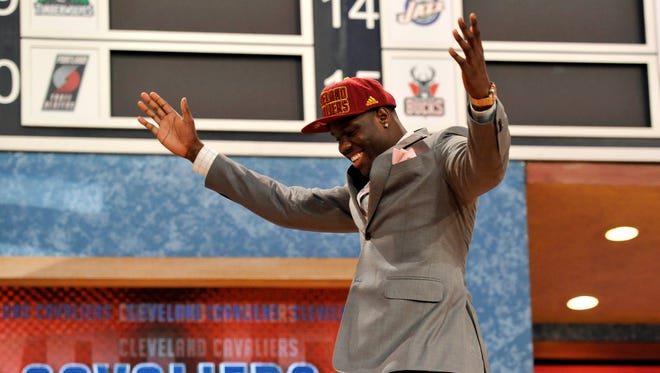 The Cleveland Cavaliers drafted Anthony Bennett No. 1 in the 2013 NBA draft.