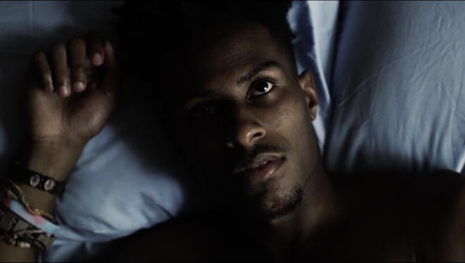 """Lawrence Matthews is """"Myles,"""" in the new short film by Memphis' Kevin Brooks."""