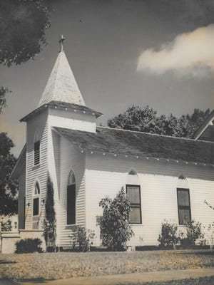 Grace Lutheran Church in 1941. The congregation worshipped 69 years at the downtown Vero Beach location, from June 1919 to Sept. 1988.