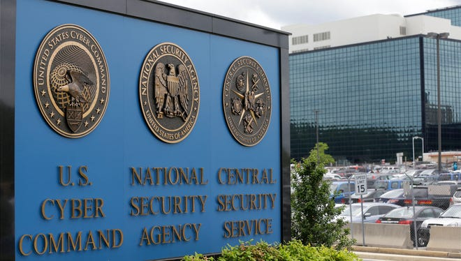 This June 6, 2013, file photo shows the National Security Agency campus in Fort Meade, Md.